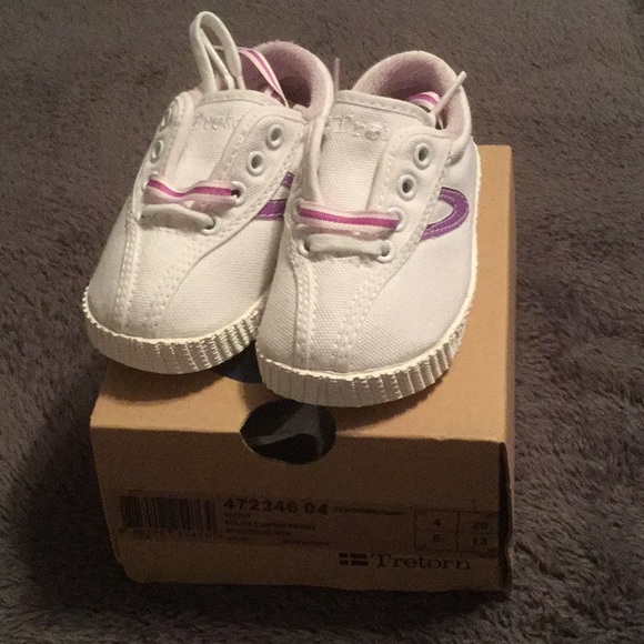Tretorn Nylite Canvas Infant Sneaker NWT NWT